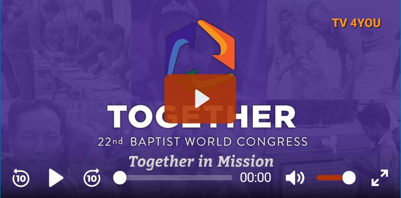 TV 4YOU: Zahajovací shromáždění druhého dne 22. kongresu BWA