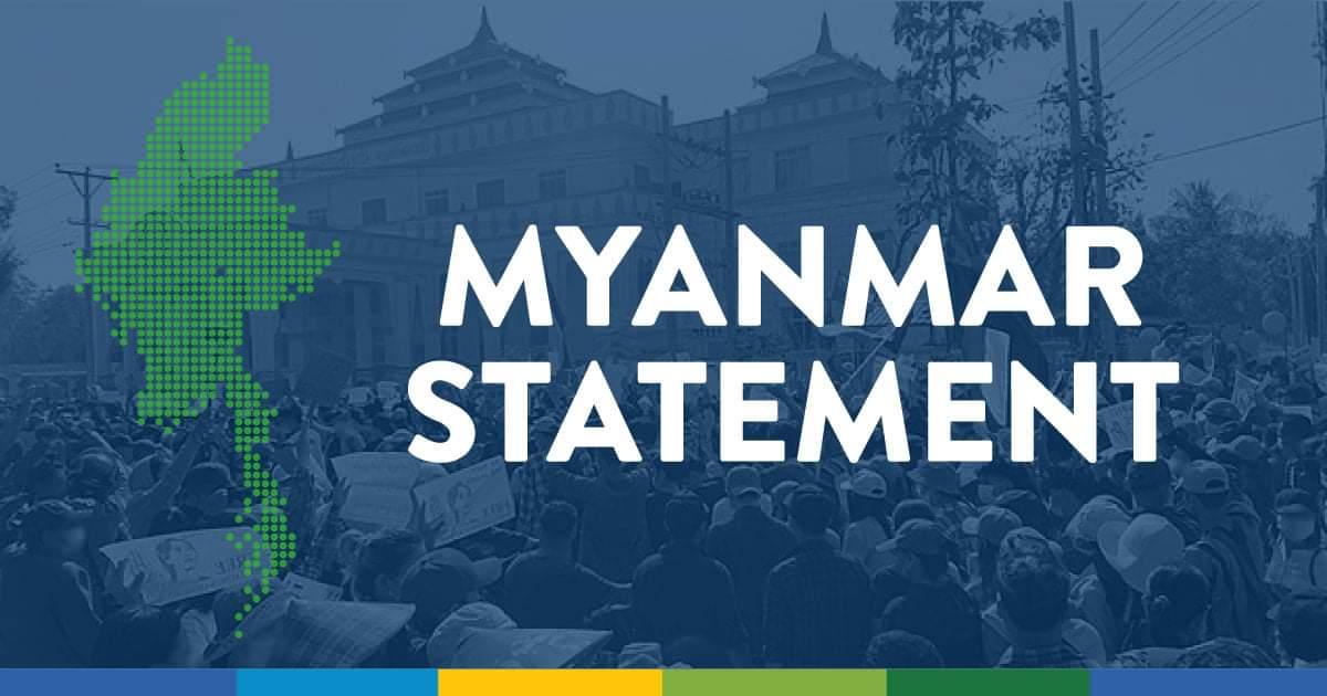 BWA: Prohlášení k událostem v Myanmaru