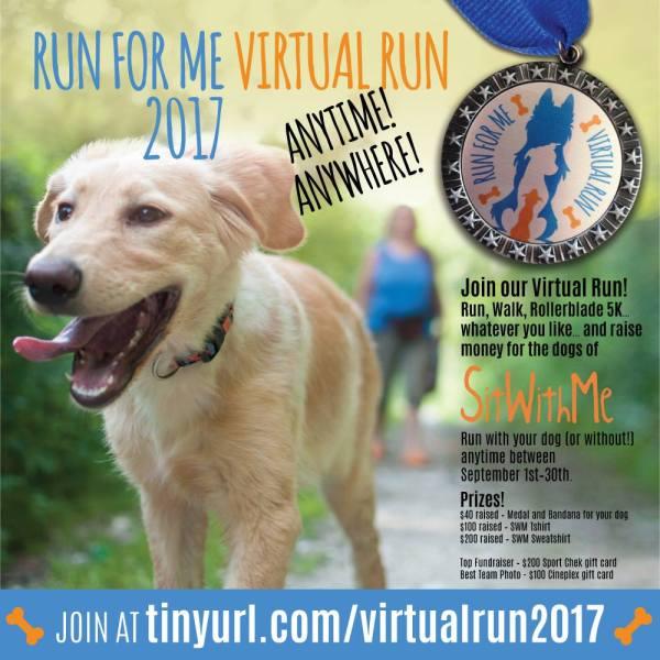 Rune for Me 2017 Virtual Run Poster