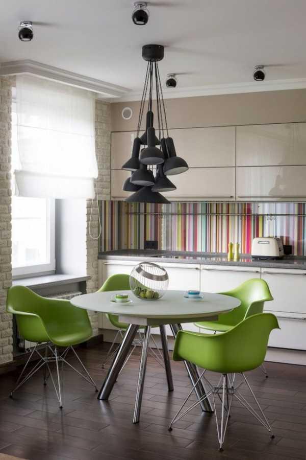 Дизайн кухни с фартуком из стекла фото – Фартук для кухни ...
