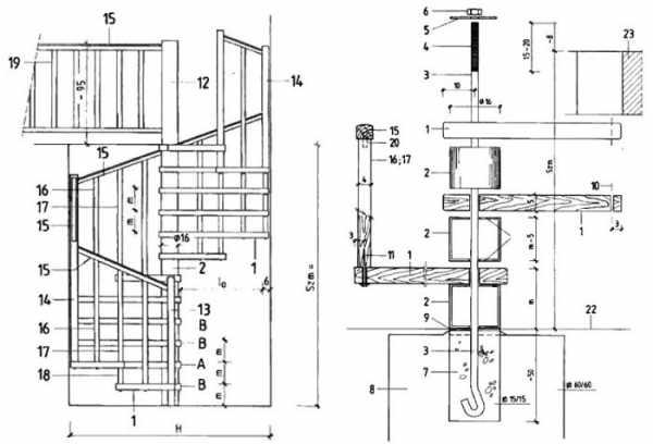 Фото винтовые деревянные лестницы – Винтовая лестница ...