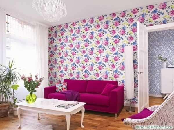 Красивые обои на стену в квартире фото – на стену, фото ...
