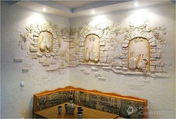 Стены дизайн кухня фото – обои, современные идеи ...
