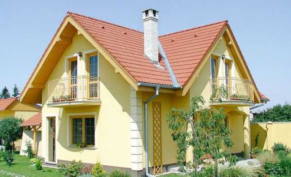 Виды крыш частных домов – фото видов различных конструкций ...