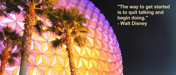 Walt Disney quote with my picture