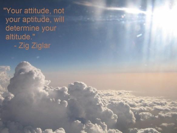 Zig Ziglar Attitude Quote