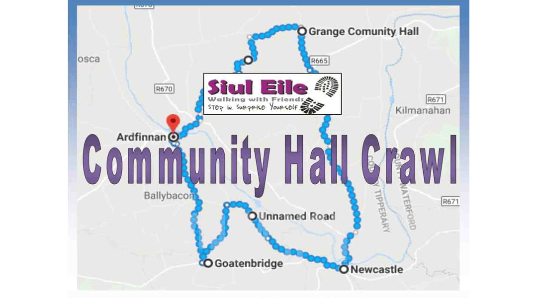 Community Hall Crawl – 28km Walking Challenge