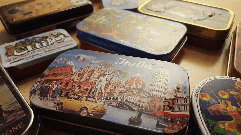 cajas coleccion souvenir sivarita
