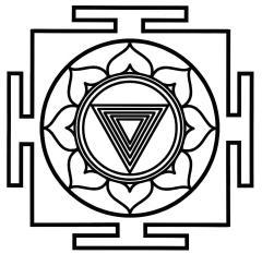 YANTRA es un diseño geométrico que actúa como una herramienta