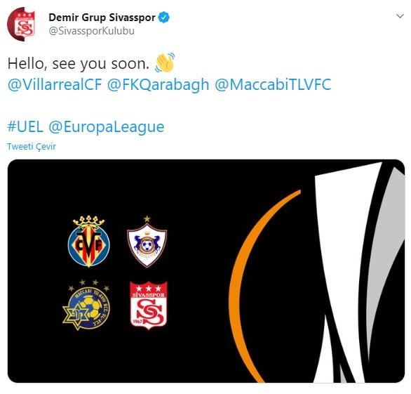 Sivasspor'dan rakiplerine mesaj!