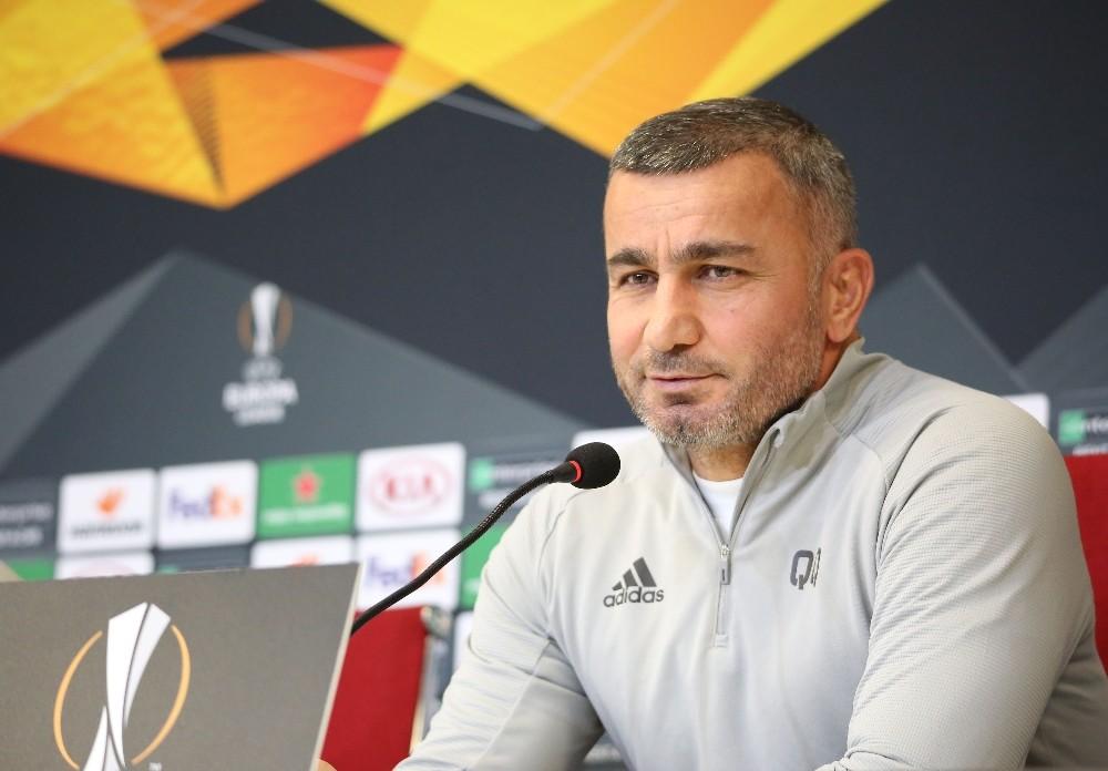 """Gurban Gurbanov: """"Maçı kazanmayı çok istiyoruz"""""""