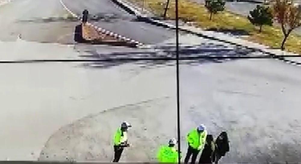 Kimliğini evde unuttu, yardımına polis ekipleri koştu