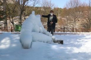Önce patladı sonra dondu, ortaya ilginç görüntüler çıktı