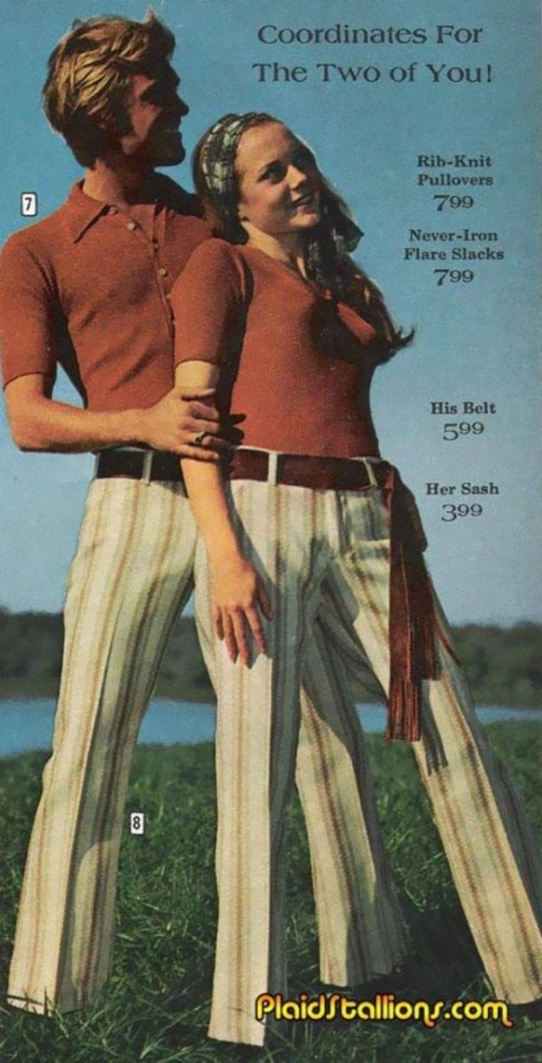 Экстравагантная мода 1970-х годов