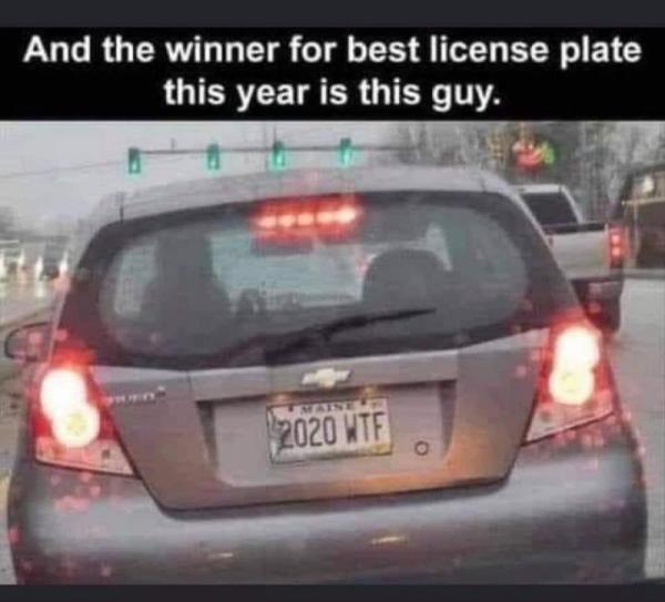 Победитель лучшего автомобильного номера 2020