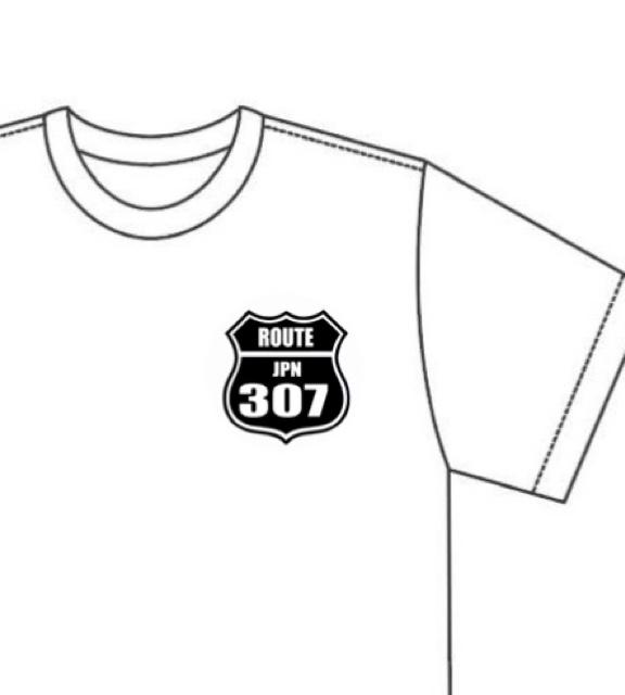 信楽の主要道路Tシャツ