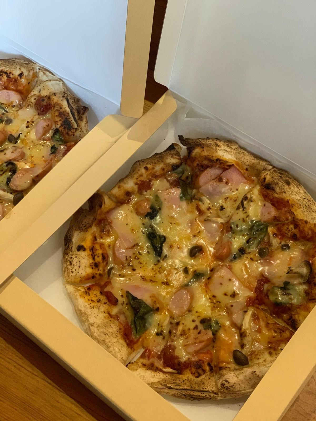ピザの打ち合わせ
