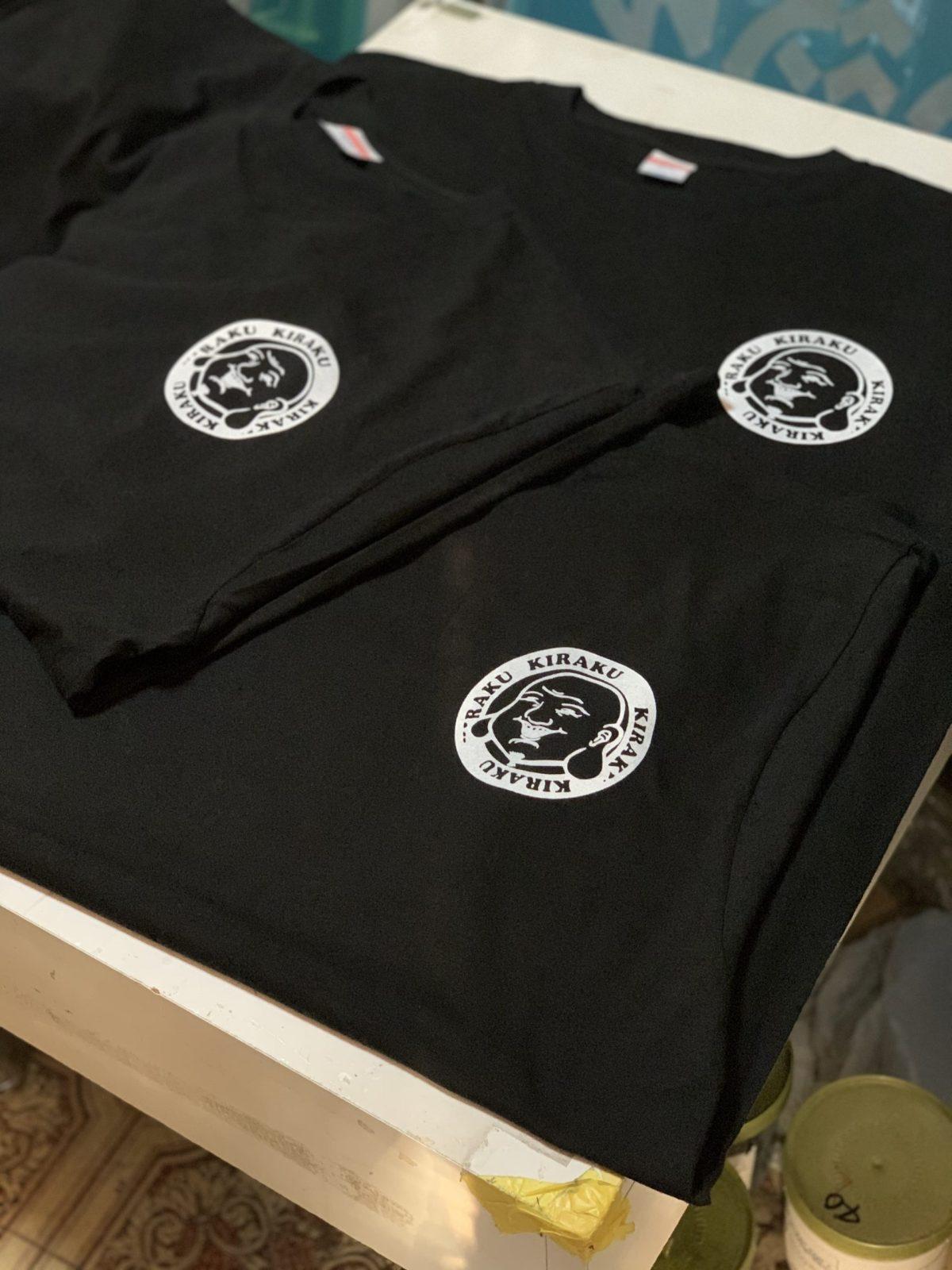 亀楽屋さんスタッフTシャツ製作