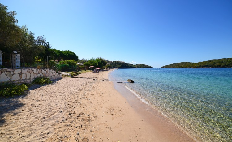 Gallikos Molos beach Sivota Greece