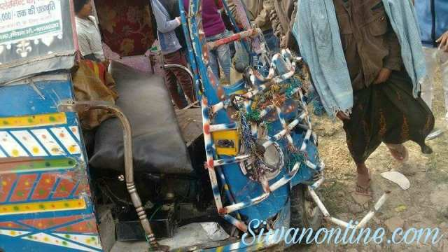 Siwan-gopalganj road accident