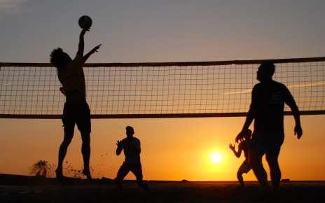 वॉलीबॉल फाइनल मैच