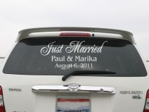 just-married-car