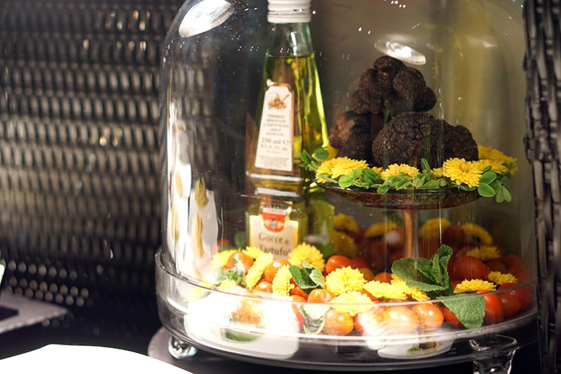 Black Italian Truffles at Conrad Centennial Singapore Oscar's - Black Winter Truffle