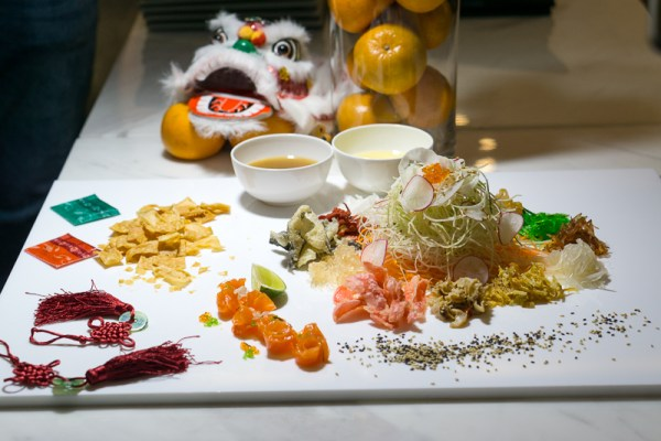 Chinese New Year 2017 at The Carvery, Park Hotel Alexandra - Golden Eight Treasures Yusheng
