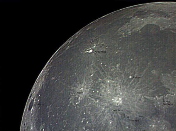 The Moon: Kepler and Copernicus | Six Alberts Astronomy ...