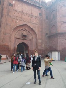Warming up to a mega-city - visiting Delhi's Red Fort