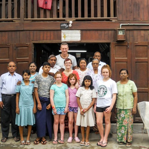 Meeting families making a difference to the poor in Myanmar.