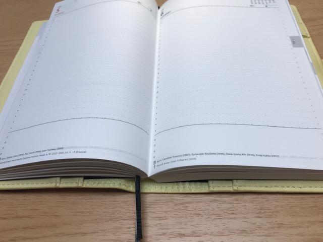 PAUL&JOE(ポール&ジョー)かわいいシステム手帳 1日1ページ用