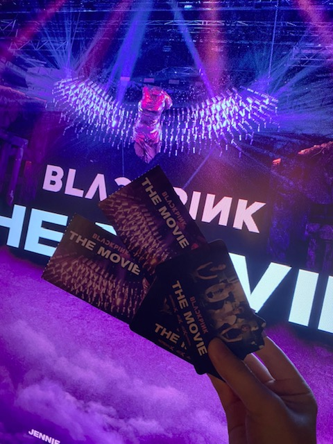 【BLACKPINK THE MOVIE】前売り券の使用方法