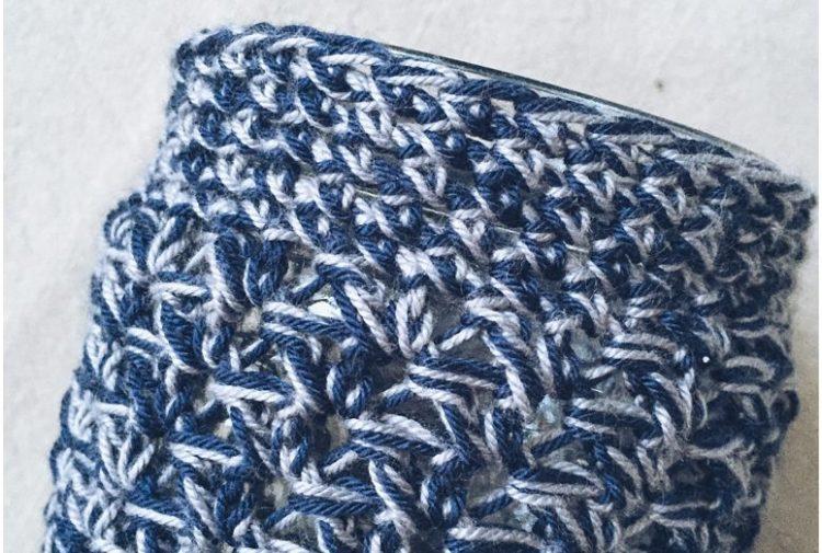 Easy Crocheted Mason Jar Cozy