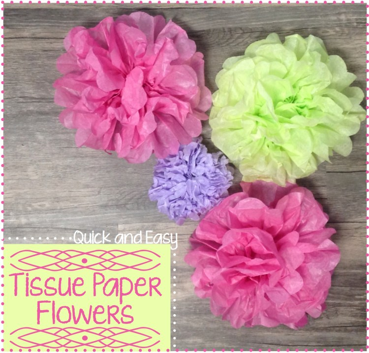 quick and easy tissue paper tutorial