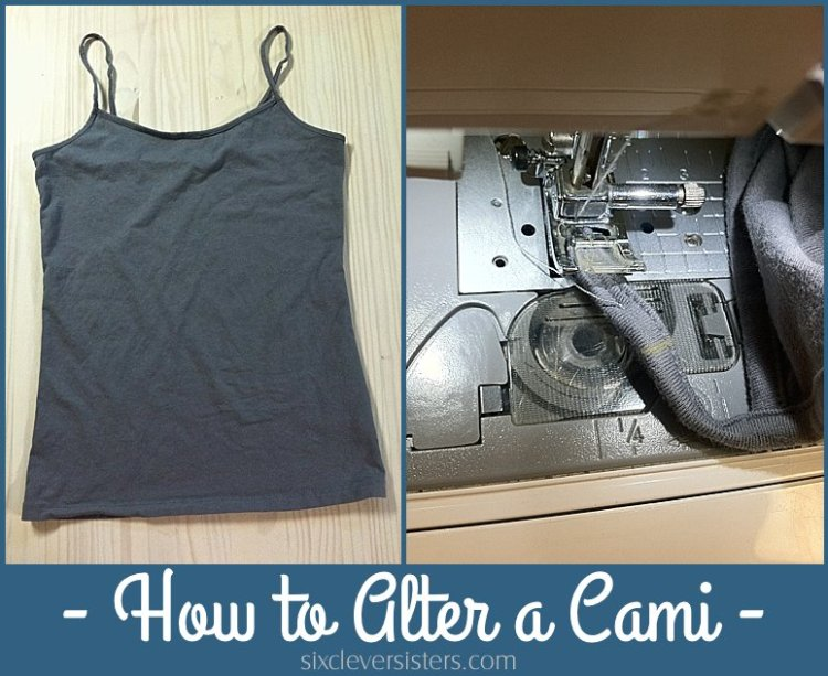 how to alter a cami