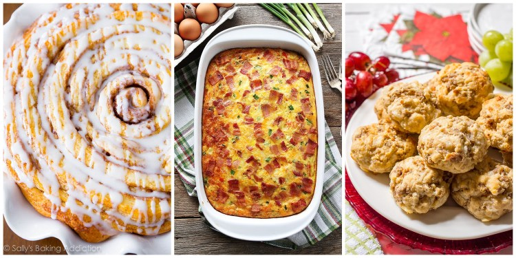 Christmas Breakfast | Christmas Breakfast Ideas | Christmas Breakfast Recipes | Christmas Breakfast Ideas Mornings | Christmas Breakfast Party | Breakfast Ideas for Christmas Morning | Breakfast Ideas for Christmas | We've got some awesome #Christmas breakfast ideas! It's a great variety. See the entire list on Six Clever Sisters blog.