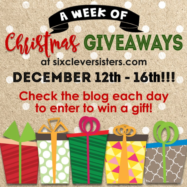A week of Christmas giveaways