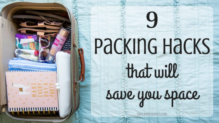 Tips for Packing | Packing Hacks | Save Space when Packing | Travel Tips | Traveling Hacks | How to Pack | Save luggage space | Looking to travel soon and want to make sure you save space in your luggage? I have 9 tips every traveler should know when packing to save space!