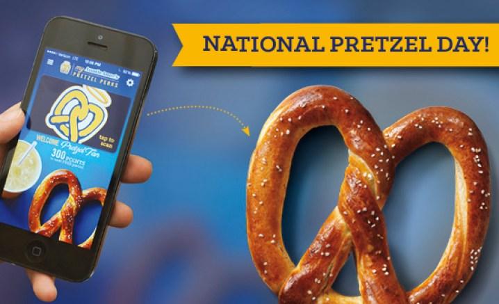 free pretzel auntie annes national pretzel day april 26 2017 sign up email perks