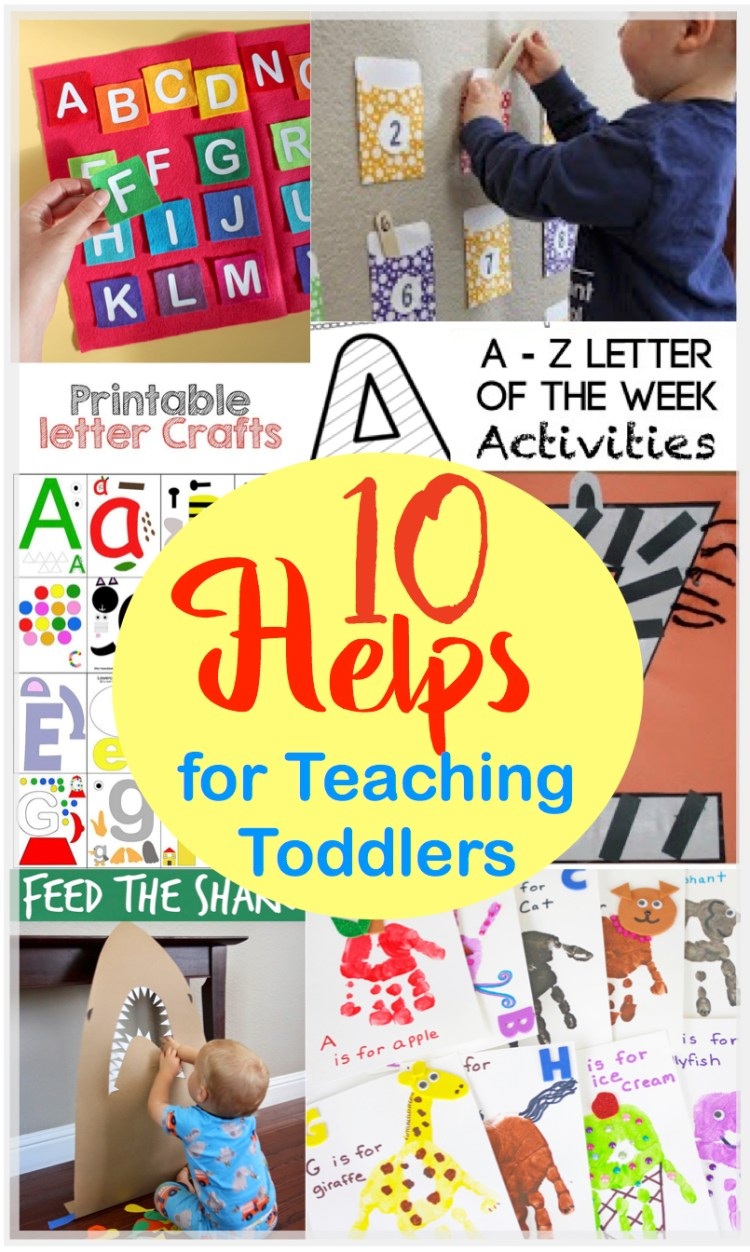 Ten Helps For Teaching Toddlers | Preschool | Teaching Toddlers | ABC's | Alphabet | Learning Time | Teaching Toddlers at Home | Teaching toddlers ABC | Teaching Toddlers colors | Toddler Activities | Toddler Crafts | Preschool At Home | Preschool Activities