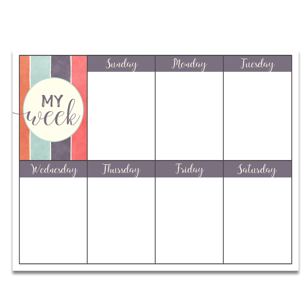 photo about Weekly Printable Planner known as Cost-free PRINTABLE Objectives Worksheet Weekly Planner Oct