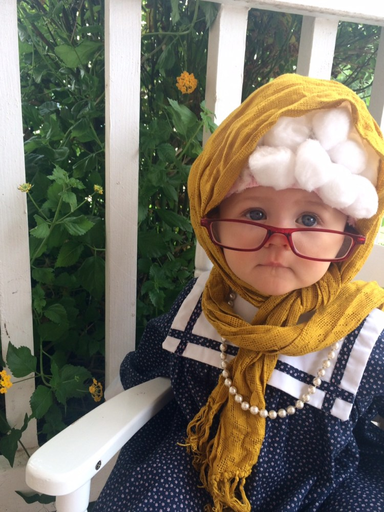 Sweet Old Lady Baby Costume - Six Clever Sisters 7a4fd9e971