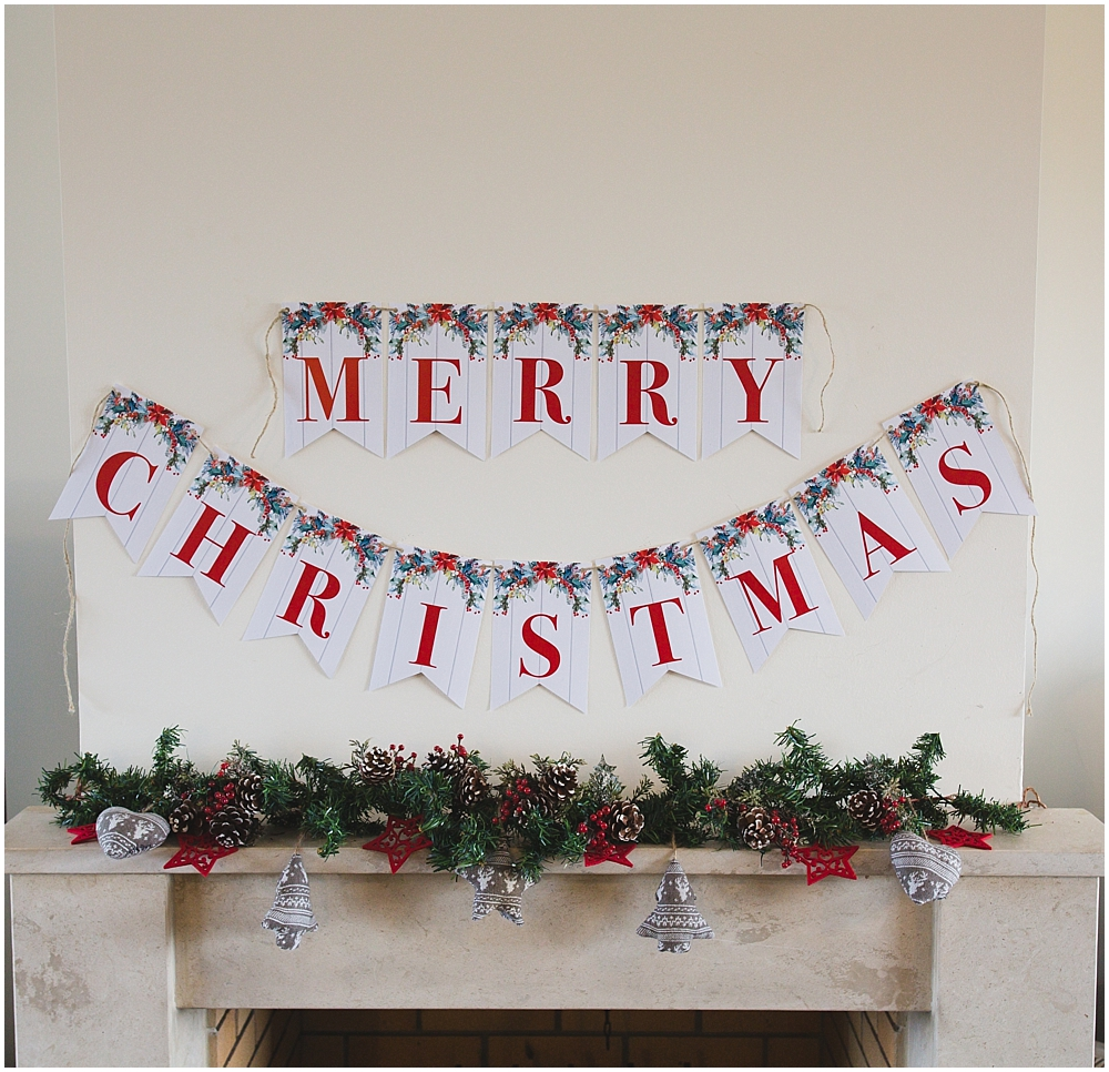 Classy Christmas Banners Dotted Banners