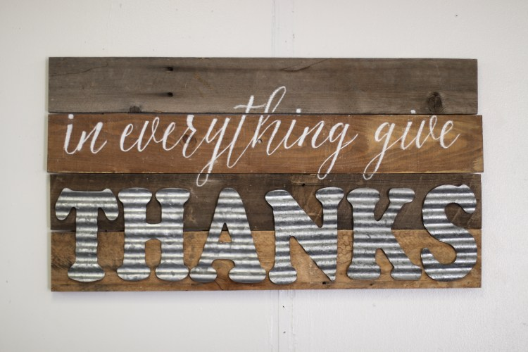 Wood Projects | Wood Projects DIY | Galvanized Decor | Galvanized Decor Farmhouse Style | Galvanized Letters Decor | Galvanized Craft Letters | DIY Wood Sign Ideas | DIY Wood Sign Tutorial | DIY Wood Sign Craft | This ever-so-easy #project can be done by anyone, even if you don't consider yourself crafty. It's so practical! #sixcleversisters