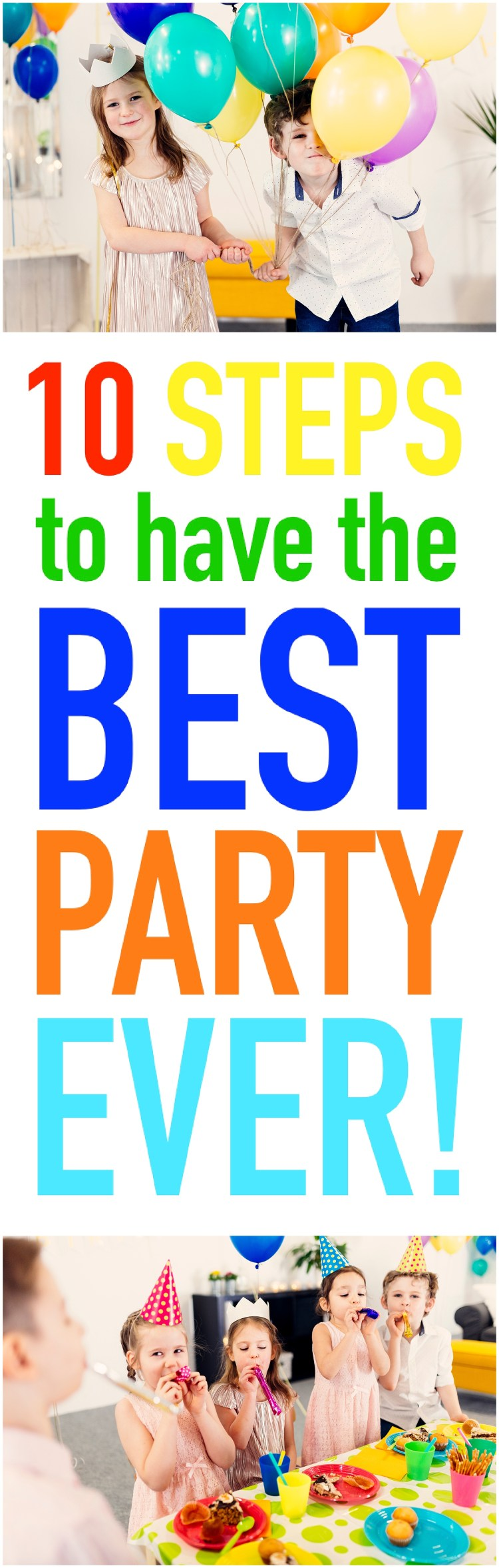 Birthday Party Planning | How to Birthday Party | Party Checklist | Steps to a Great Party | Six Clever Sisters