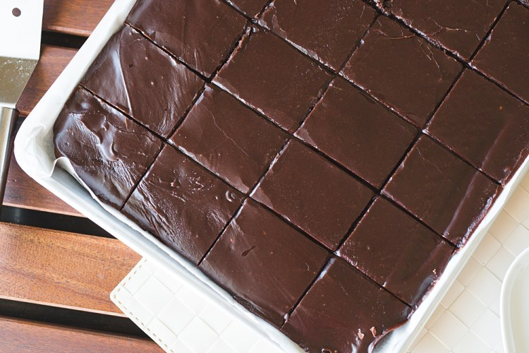 Coca Cola Sheet Cake | Cola Cake | Coca Cola Cake | Dessert Recipe | Cake | Chocolate Cake | Chocolate | Sheet Cake | Sheet Cake Recipe | Dessert for a Crowd | Desserts Easy | Dessert Recipes | Six Clever Sisters