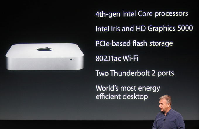 Mac Mini slide