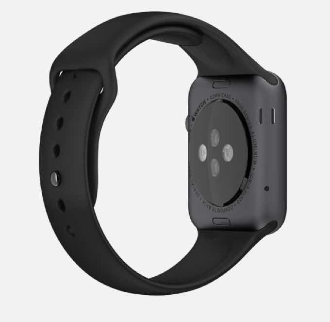 Apple Watch side view