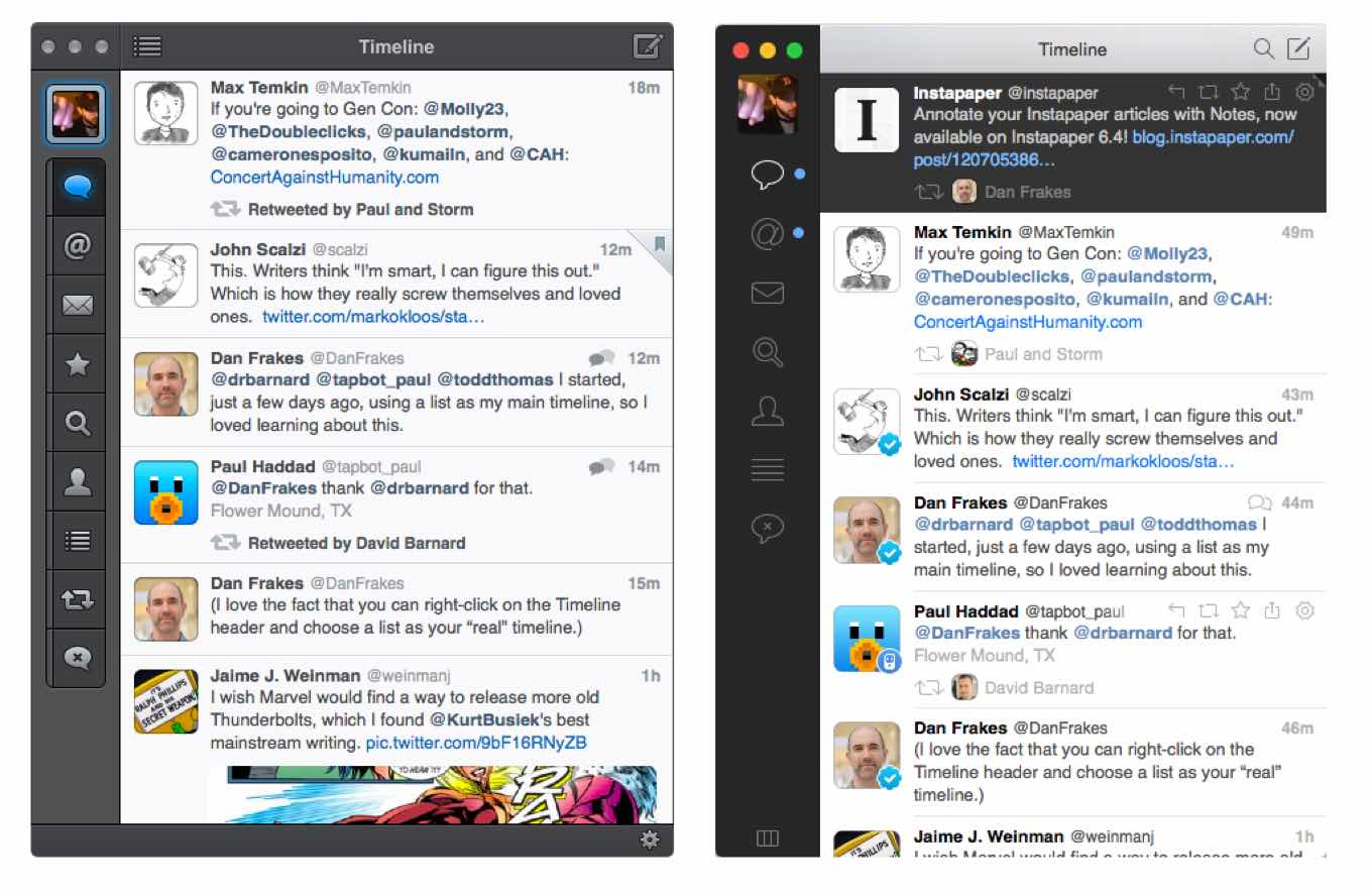 Tweetbot vs. Tweetbot